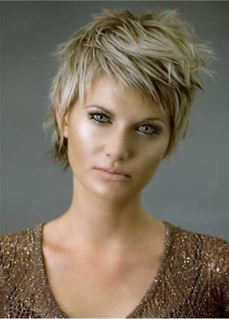Awesome 14 Great Short Hairstyles For Thick Hair Pretty Designs Short Hairstyles Gunalazisus