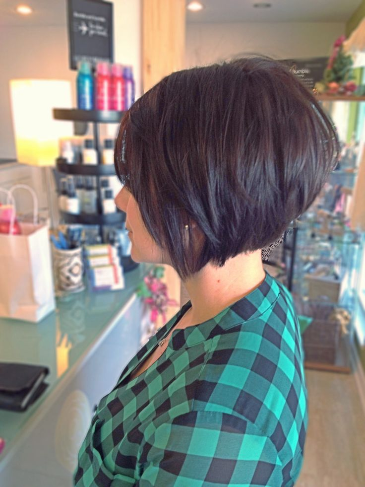Cool Short Layered Bob Hairstyle