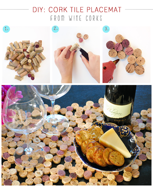 Wine Cork Table Design: 12 DIY Projects: How To Reuse The Wine Corks