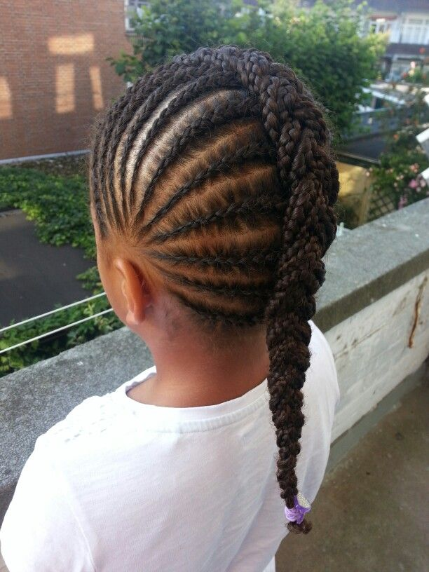 Fine 14 Lovely Braided Hairstyles For Kids Pretty Designs Hairstyles For Men Maxibearus