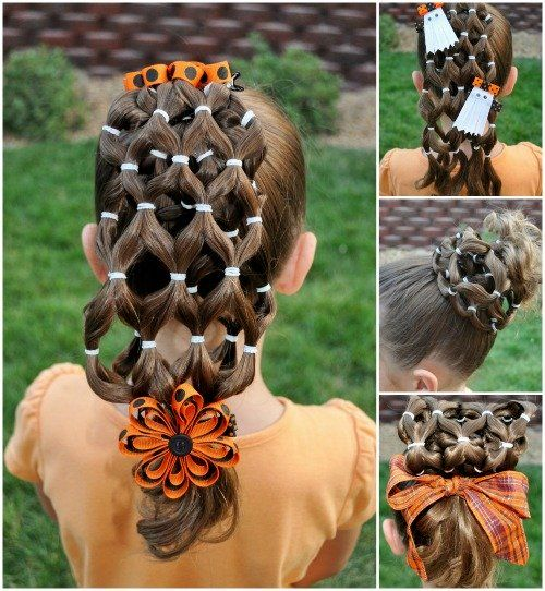 Creative Halloween Hairstyles for Kids