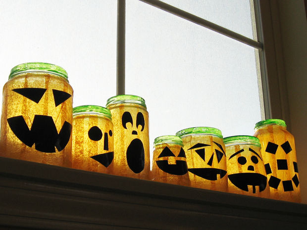 Creative Halloween Jars