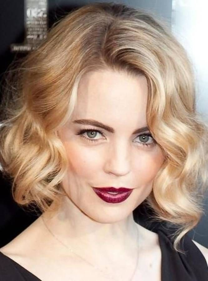 wavy bob hairstyles on pinterest wavy bobs bob