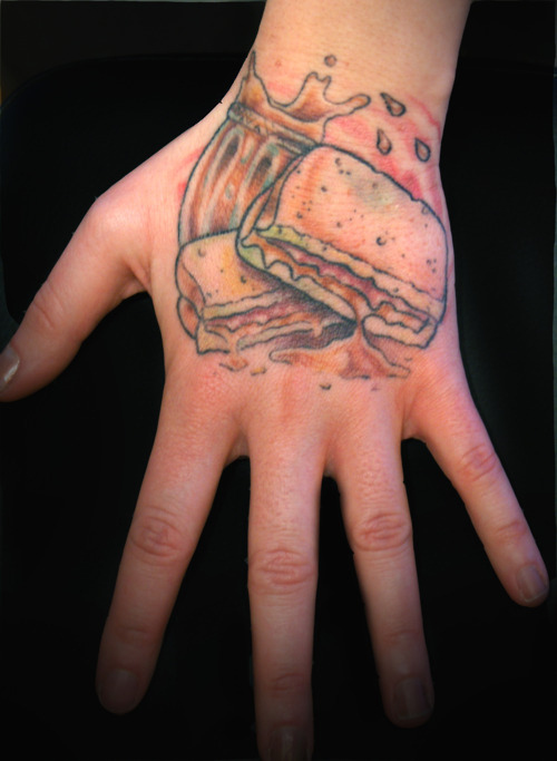 Cute Food Tattoo