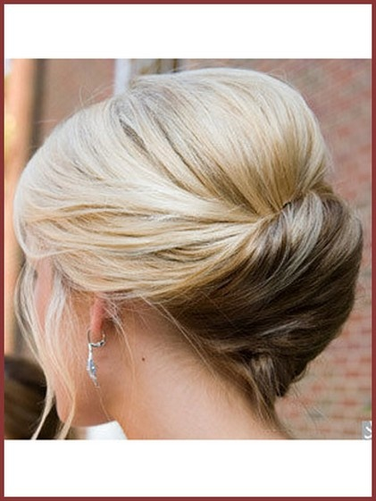 Cute French Twist Updo