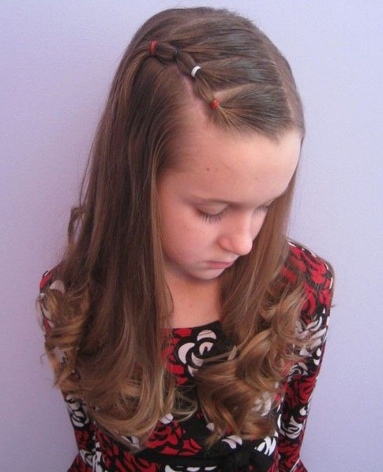 Beautiful Hairstyles Design : Cute and lovely hairstyles for little girls pretty