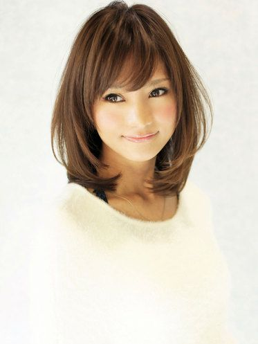 Asian Straight Layered Hair With Side Bangs 16 Fascinating ...