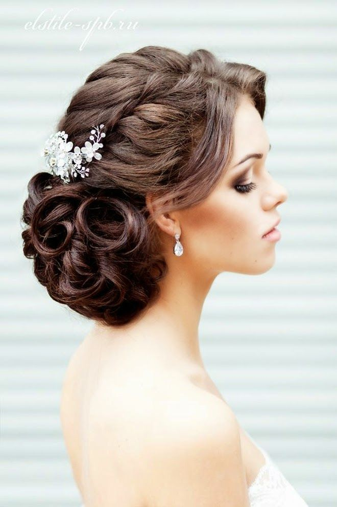 Dropping Wedding Updo