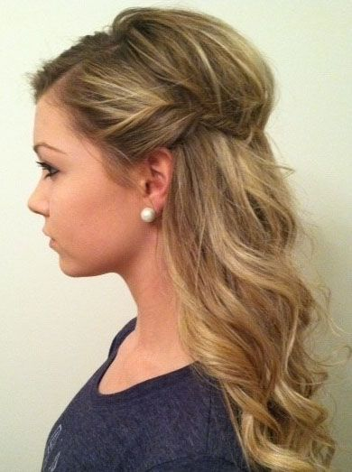 Image Result For Cute Prom Hairstyles For Short Medium Hair