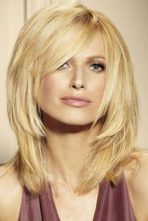 Easy Medium Layered Hairstyle