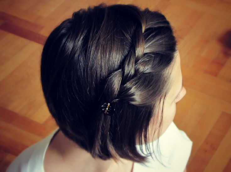 Sensational 12 Pretty Braided Hairstyles For Short Hair Pretty Designs Short Hairstyles Gunalazisus