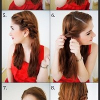 Easy Twisty Updo