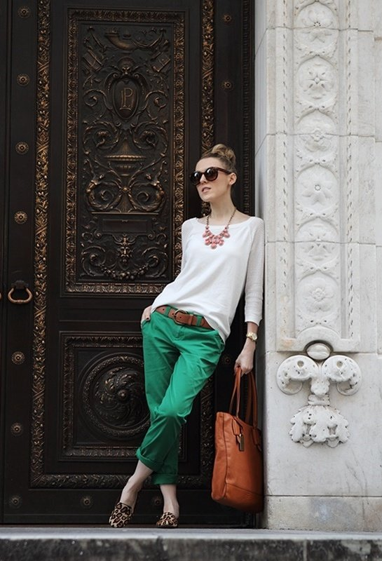 Emerald Loose Pants