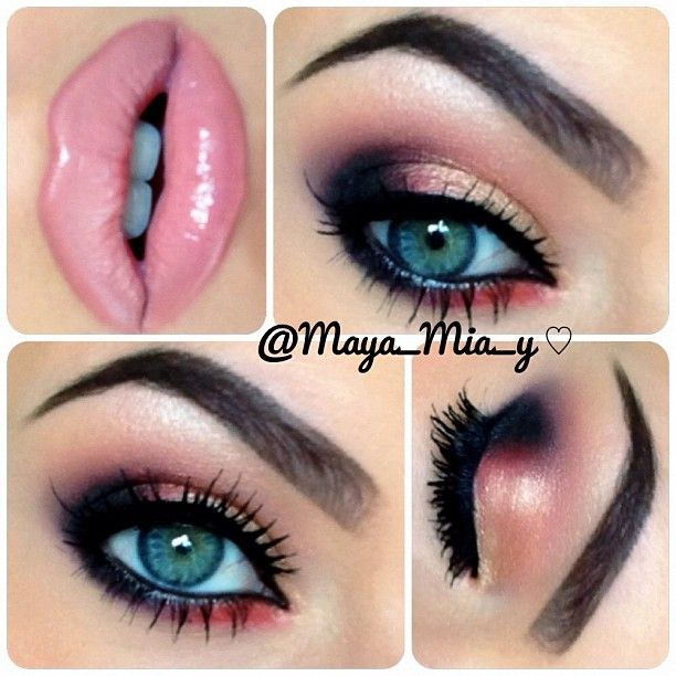 Fabulous Pink Lipstick Makeup Idea