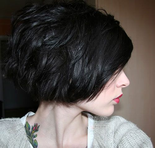 Fabulous Short Layered Bob Haircut