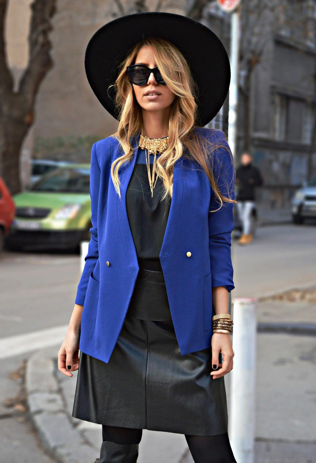 Fall Outfit Idea with A Hat