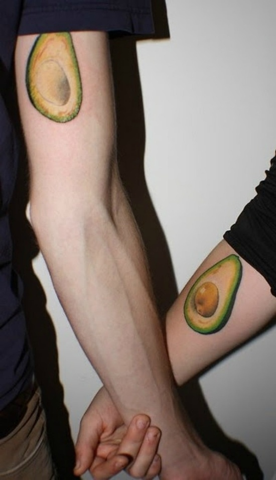Food Tattoos for Lovers