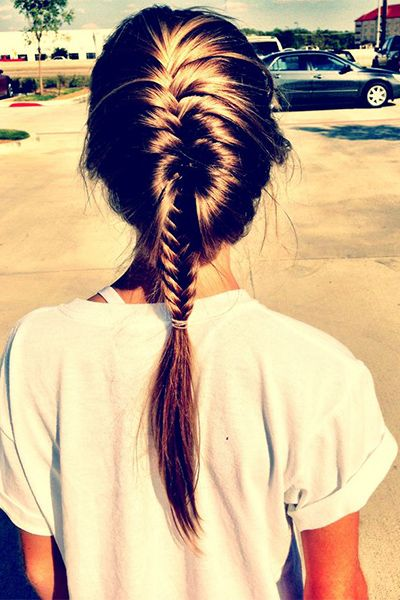 French Braided Hairstyle