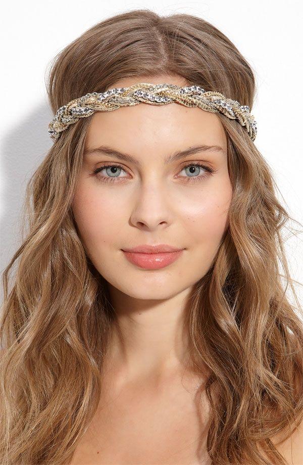 Glamorous Hairstyle With Headband