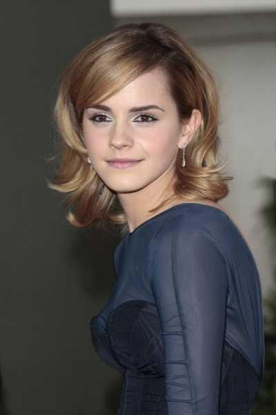 Glamorous Shoulder Length Layered Hairstyle