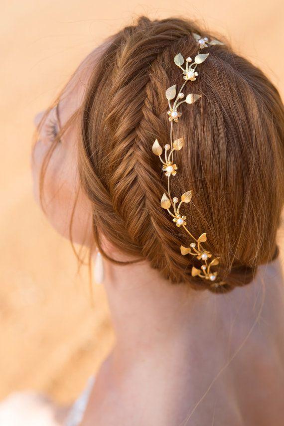 Glamorous Wedding Hairstyle With Headband