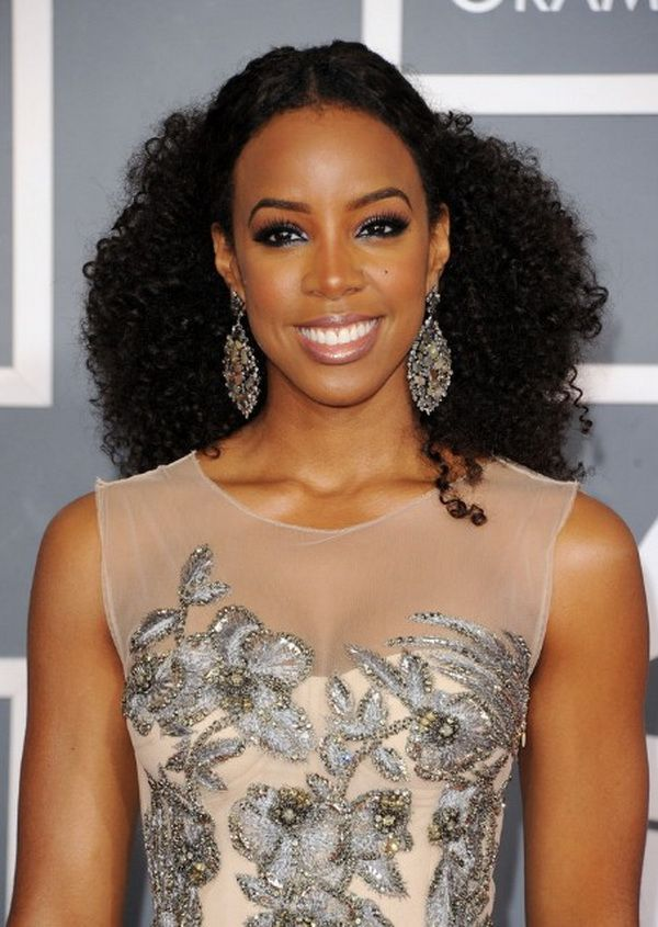 Glamorous Wedding Hairstyle for Black Women