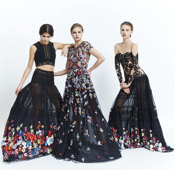 Glamorous Black Dresses by Zuhair Murad