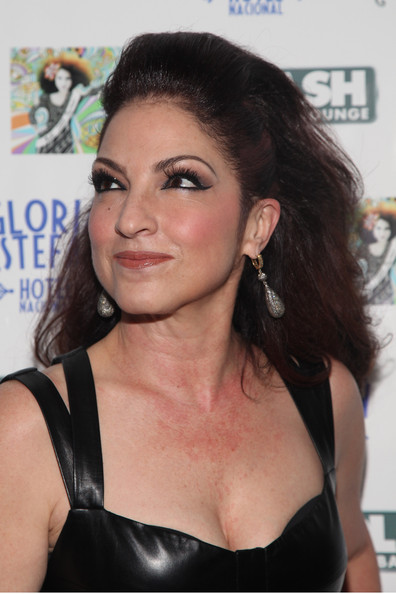 Gloria Estefan Teased Hair