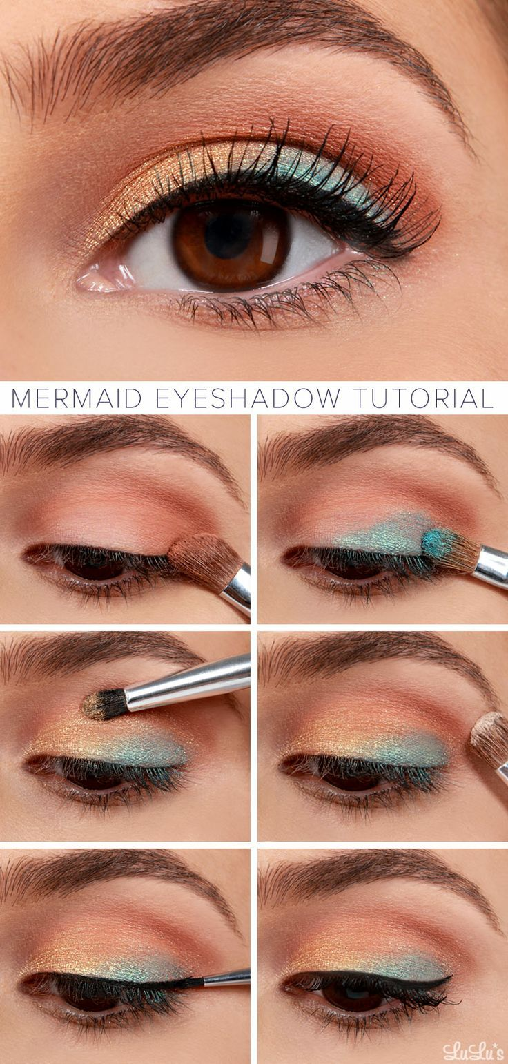 Eyeshadow Tutorial Videos: 10 Golden Peach Makeup You Must Love