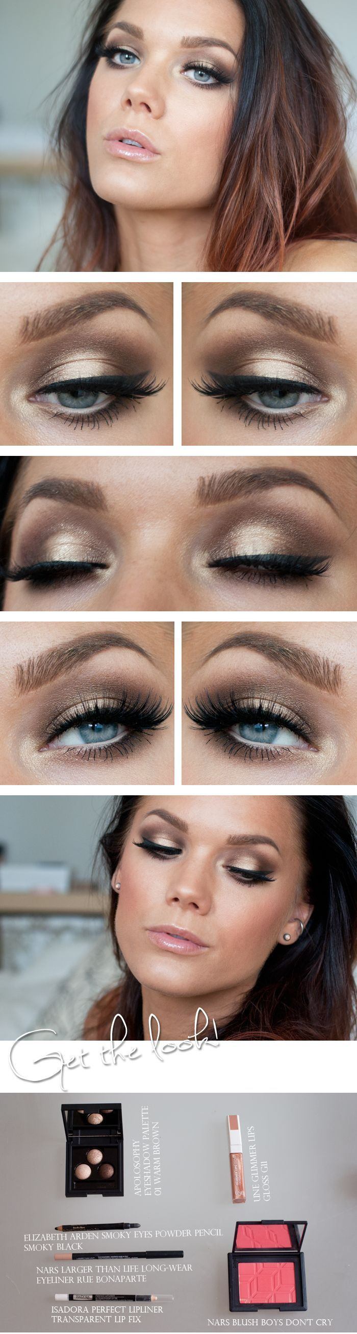 Gold Smoky Eye Tutorial