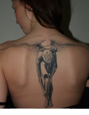 Gorgeous Angel Tattoo