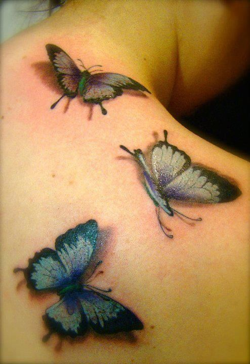 Gorgeous Butterfly Tattoo