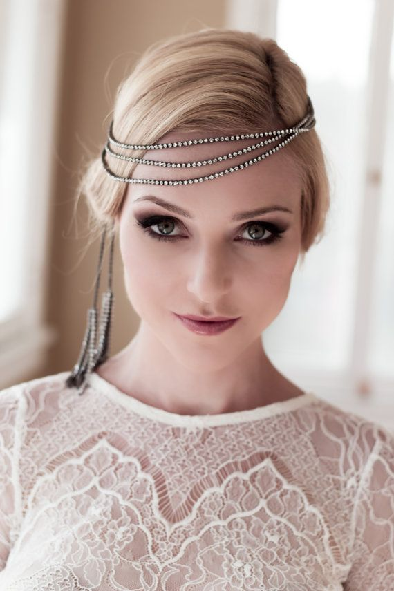 Gorgeous Updo Hairstyle With Headband