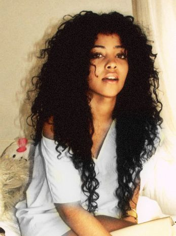 Cool 16 Glamorous Black Curly Hairstyles Pretty Designs Hairstyle Inspiration Daily Dogsangcom
