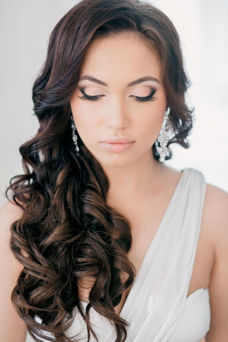 Awesome 18 Perfect Curly Wedding Hairstyles For 2015 Pretty Designs Hairstyles For Men Maxibearus