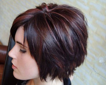 Great Short Layered Bob Hairstyle
