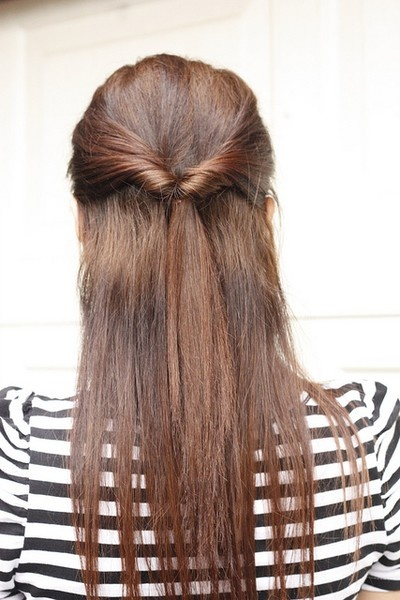 14 Simple and Easy Hairstyles for School - Pretty Designs