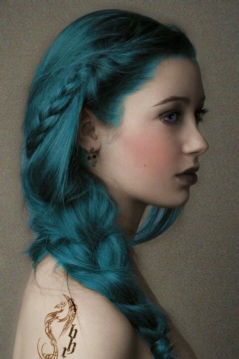 Halloween Mermaid Hairstyle