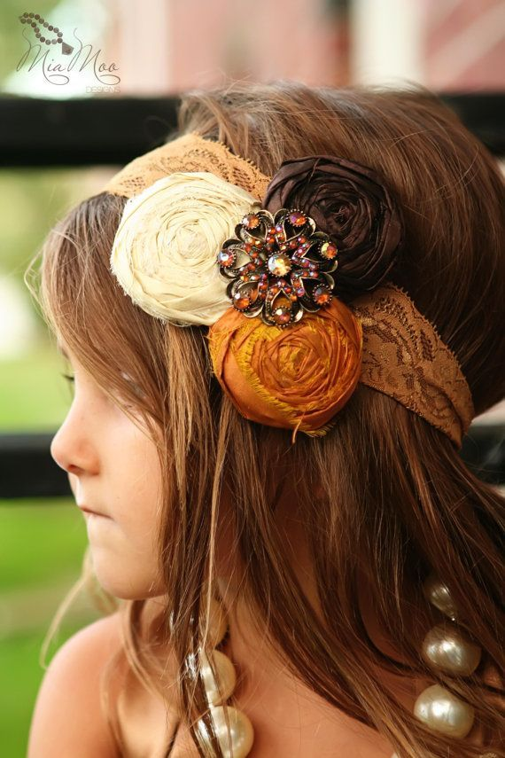 Headband Hairstyle for Little Girls