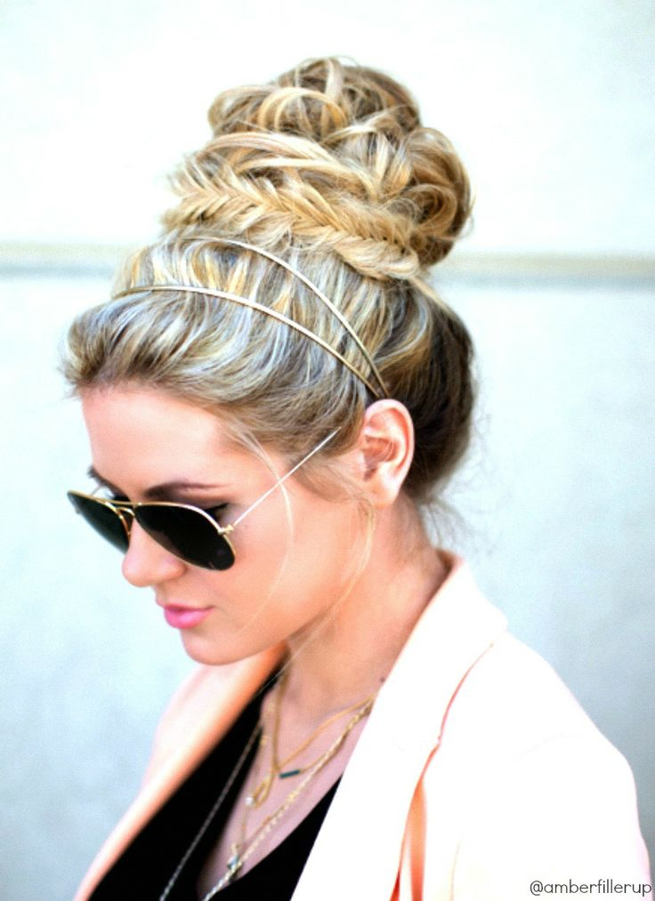 hairstyles with kanekalon hair : 14 Glamorous Hairstyles With Headbands - Pretty Designs