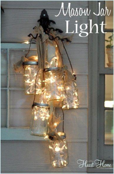 Homemade Jar Lights