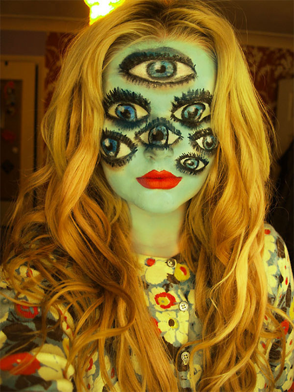 Horrible Makeup Idea for Halloween