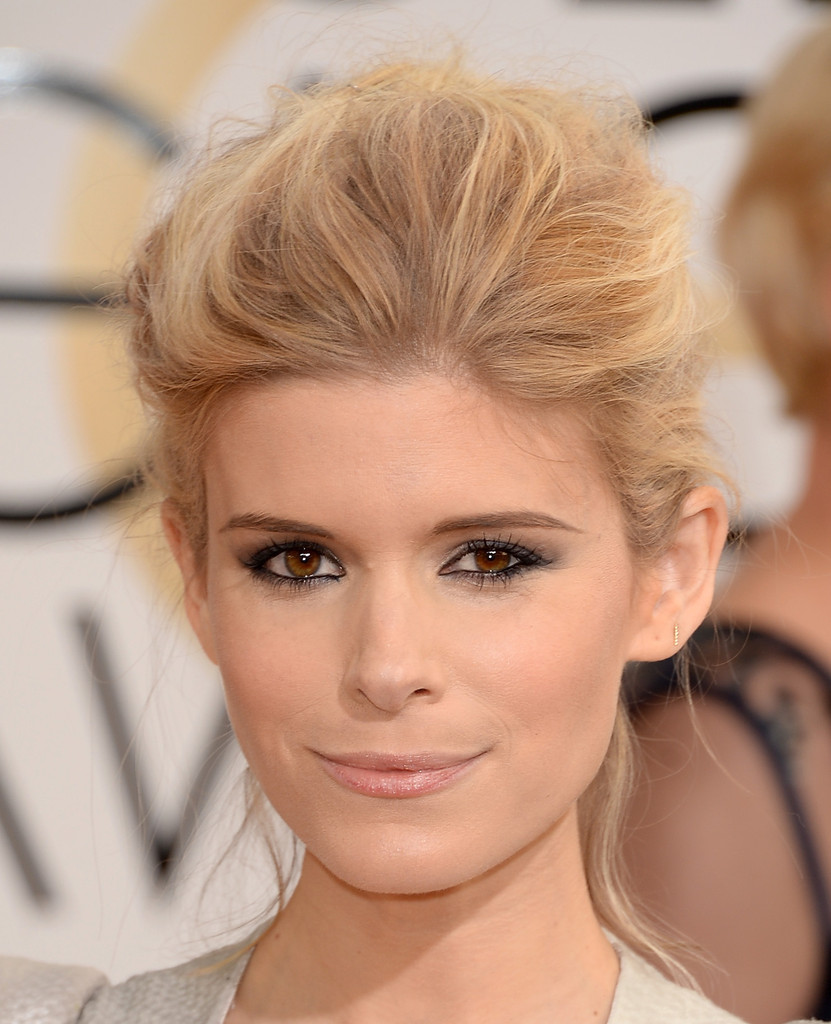 Kate Mara Teased Hair