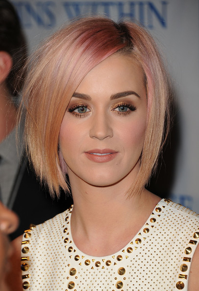 Katy Perry Layered Bob Haircut