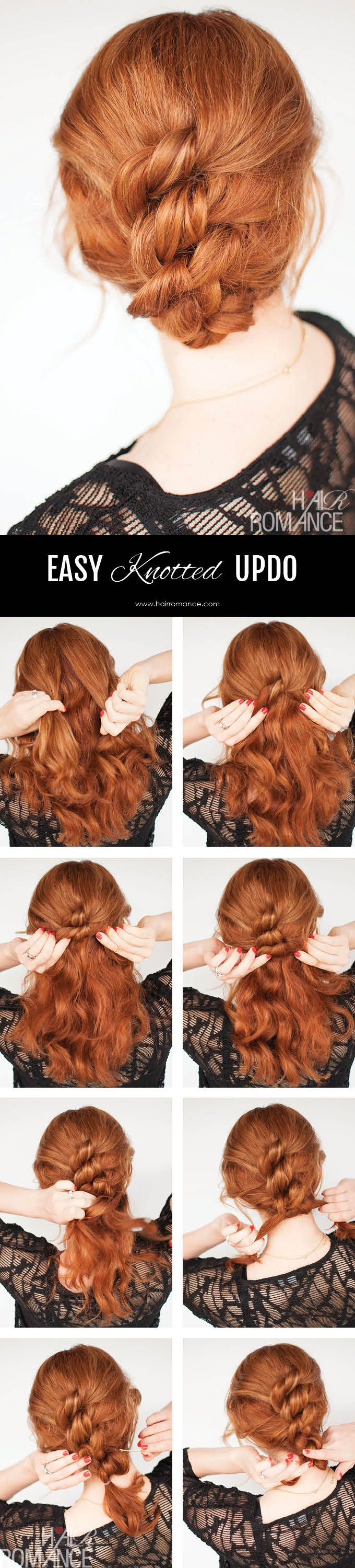 Fashionable Hairstyle Tutorials for Long Thick Hair | Pretty Designs