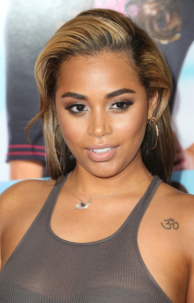 Lauren London Teased Hair