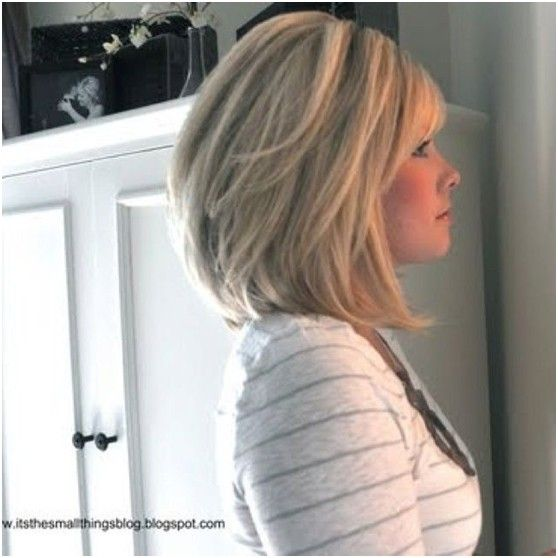 Layered Long Bob Hairstyles For Thick Hair 29