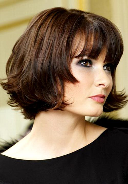 Layered Medium Bob Haircut Pinterest Haircuts