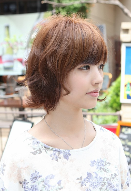 Amazing 55 Super Hot Short Hairstyles 2016 Layers Cool Colors Curls Bangs Hairstyle Inspiration Daily Dogsangcom