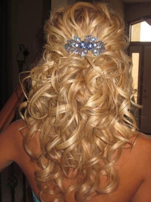 Admirable 18 Perfect Curly Wedding Hairstyles For 2015 Pretty Designs Hairstyles For Women Draintrainus
